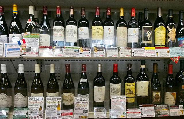 日進ワールドデリカッセン ワイン好きは必見