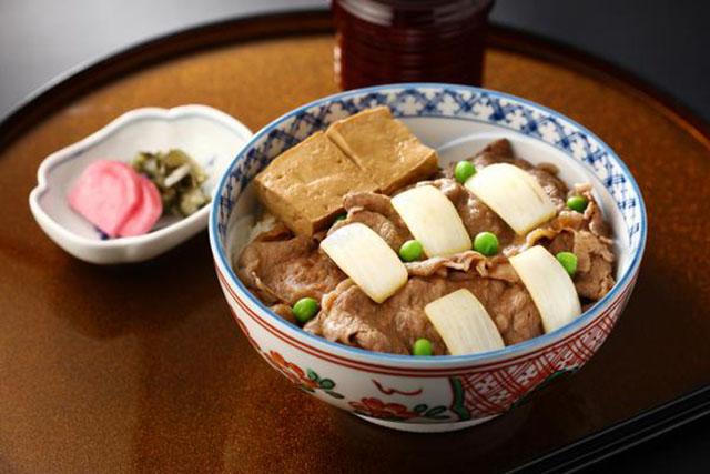 「百年牛丼」1500円