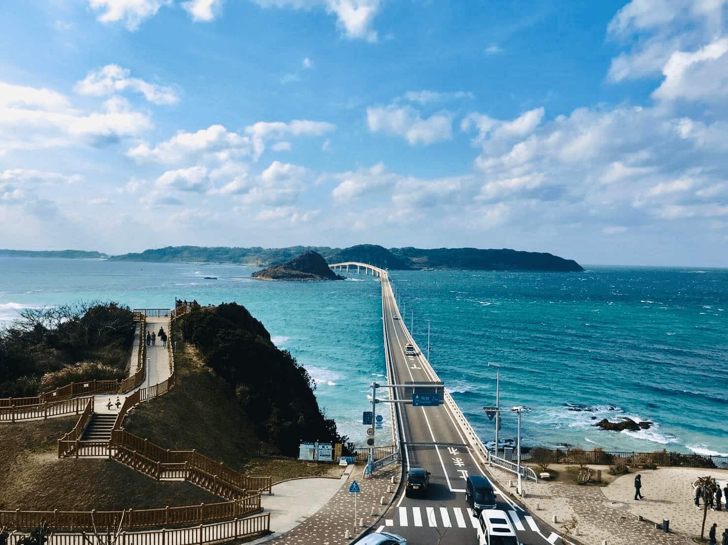 일본에서 렌트카로 드라이빙  코스 추천 10선