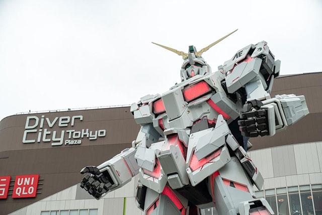 Diver City Tokyo 等身大鋼彈模型