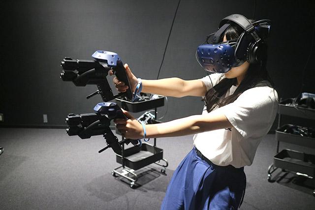 Plaza CAPCOM遊戲中心的《生化危機》VR體驗